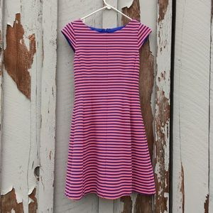Lilly Pulitzer S Dress Striped A-Line Fit Flare